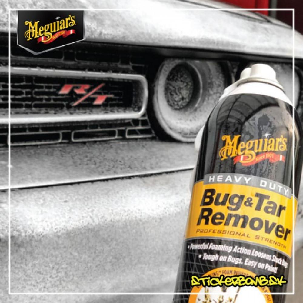 Penový odstraňovač hmyzu a asfaltu - Meguiar's Heavy Duty Bug & Tar Remover, 425 g