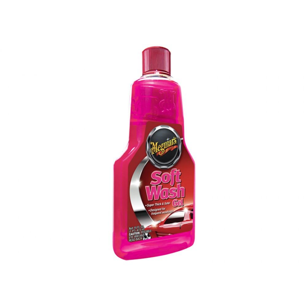 Extra hustý autošampon, 473 ml - Meguiar's Soft Wash Gel