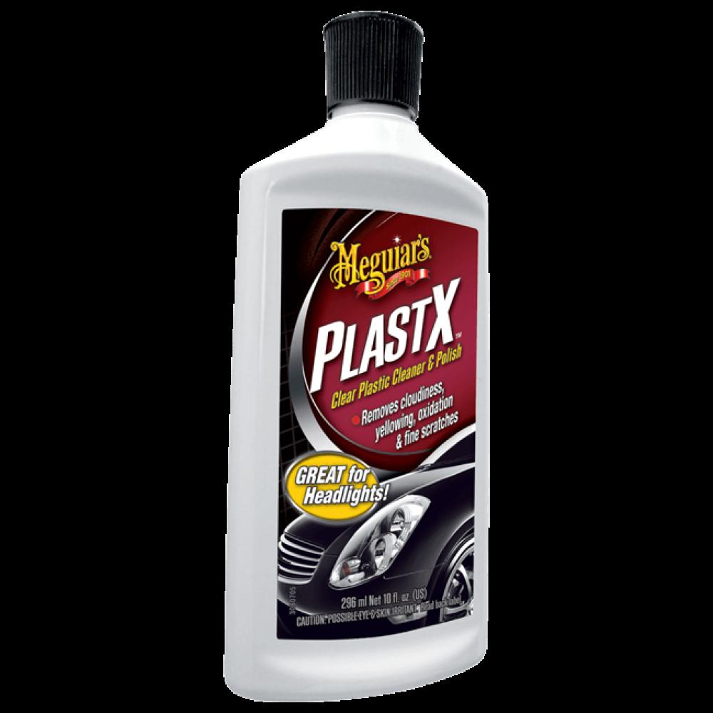 Leštenka na čiré plasty - Meguiars PlastX, 296 ml