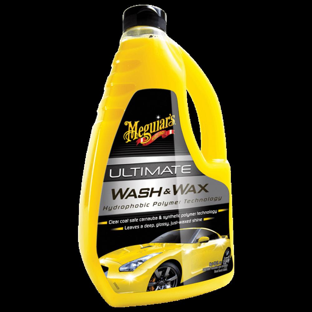 Luxusný, najkoncentrovanejší autošampón s prímesou karnauby a polymérov - Meguiar's Ultimate Wash & Wax, 1420ml