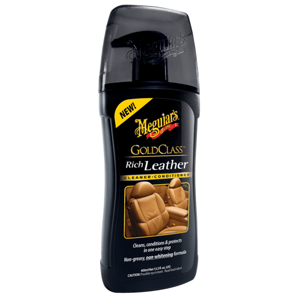 Čistič a kondicionér na kožu - Meguiars Gold Class Rich Leather Cleaner/Conditioner, 400 ml