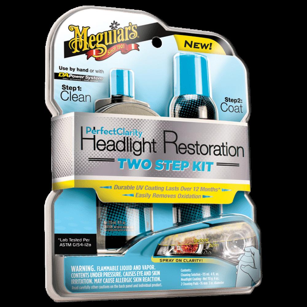 Sada na oživenie svetlometov - Meguiars Perfect Clarity Headlight Restoration Kit