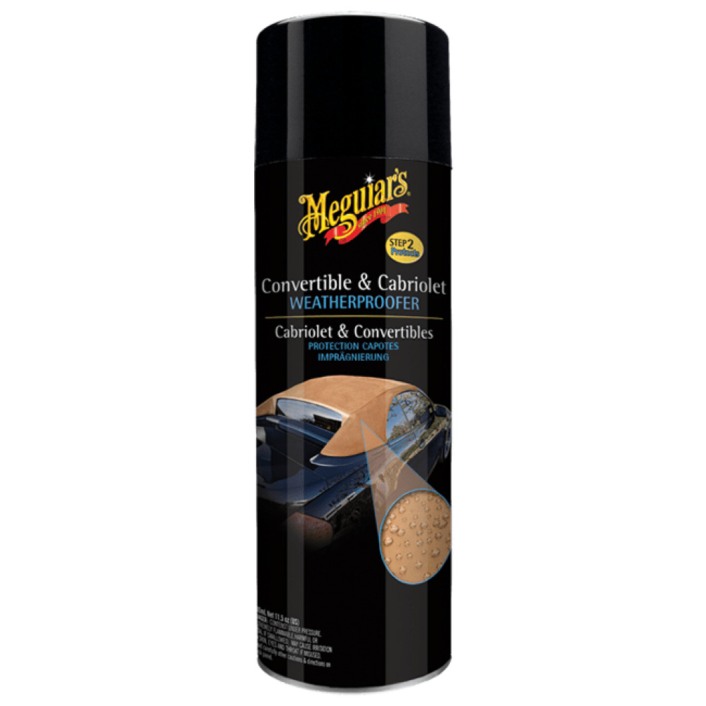 Impregnácia na strechy kabrioletov - Meguiars Convertible & Cabriolet Weatherproofer, 500 ml
