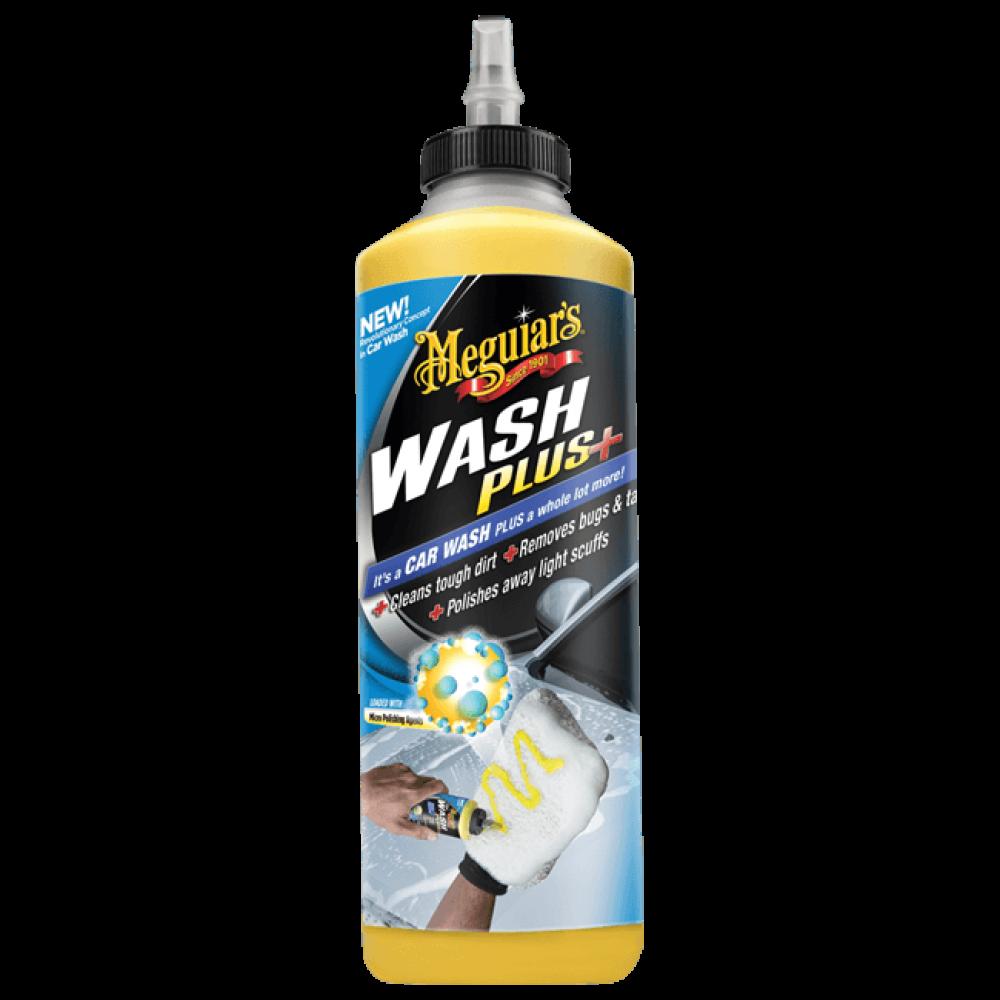 Revolučný, vysoko koncentrovaaný šampón na odolné nečistoty - Meguiar's Car Wash Plus+, 709 ml
