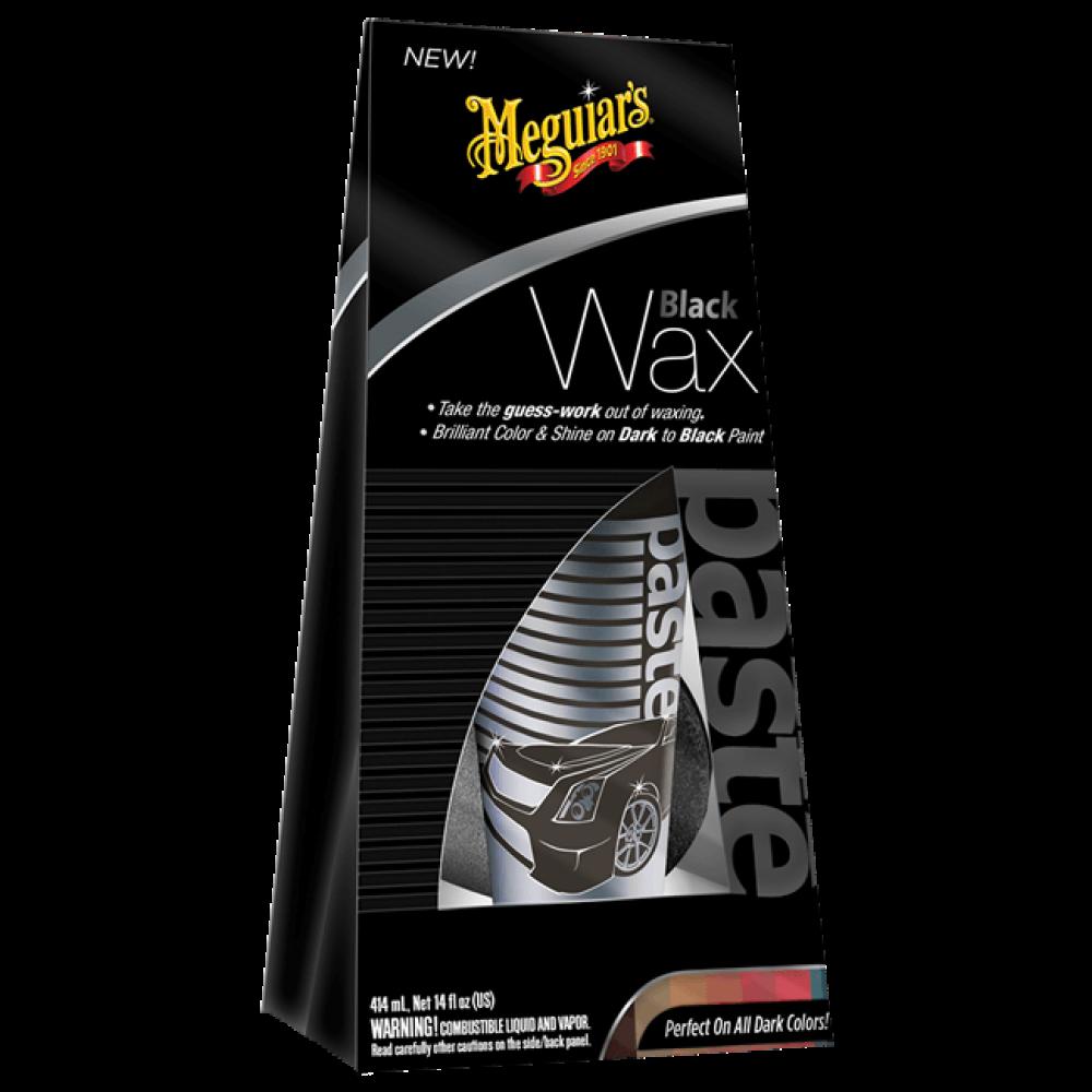 Leštička s voskom pre čierne a tmavé laky - Meguiars Black (Dark) Wax, 198 g