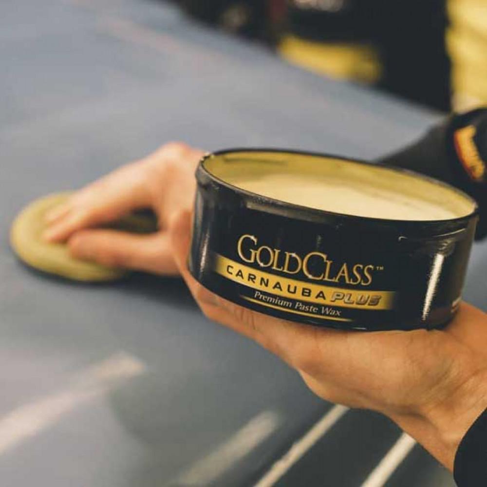 Tuhý vosk s obsahom prírodnej karnauby - Meguiars Gold Class Carnauba Plus Premium Paste Wax, 311 g