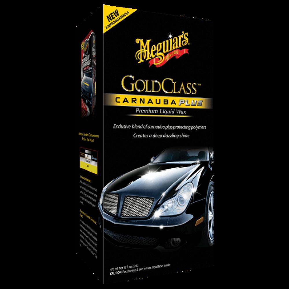 Tekutý vosk s obsahom prírodnej karnauby - Meguiars Gold Class Carnauba Plus Premium Liquid Wax, 473ml