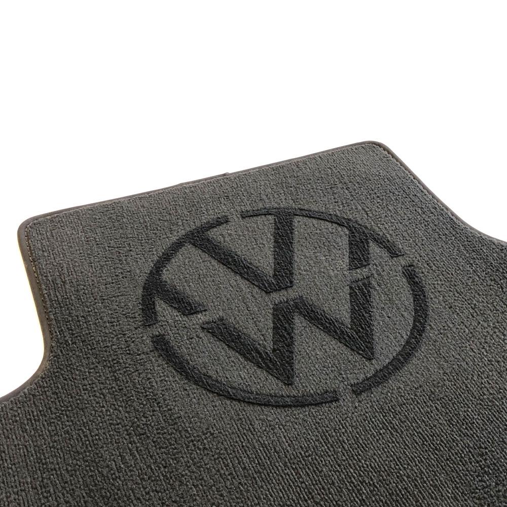 Šablona na vyčesavanie loga do koberčeka - VW nové logo