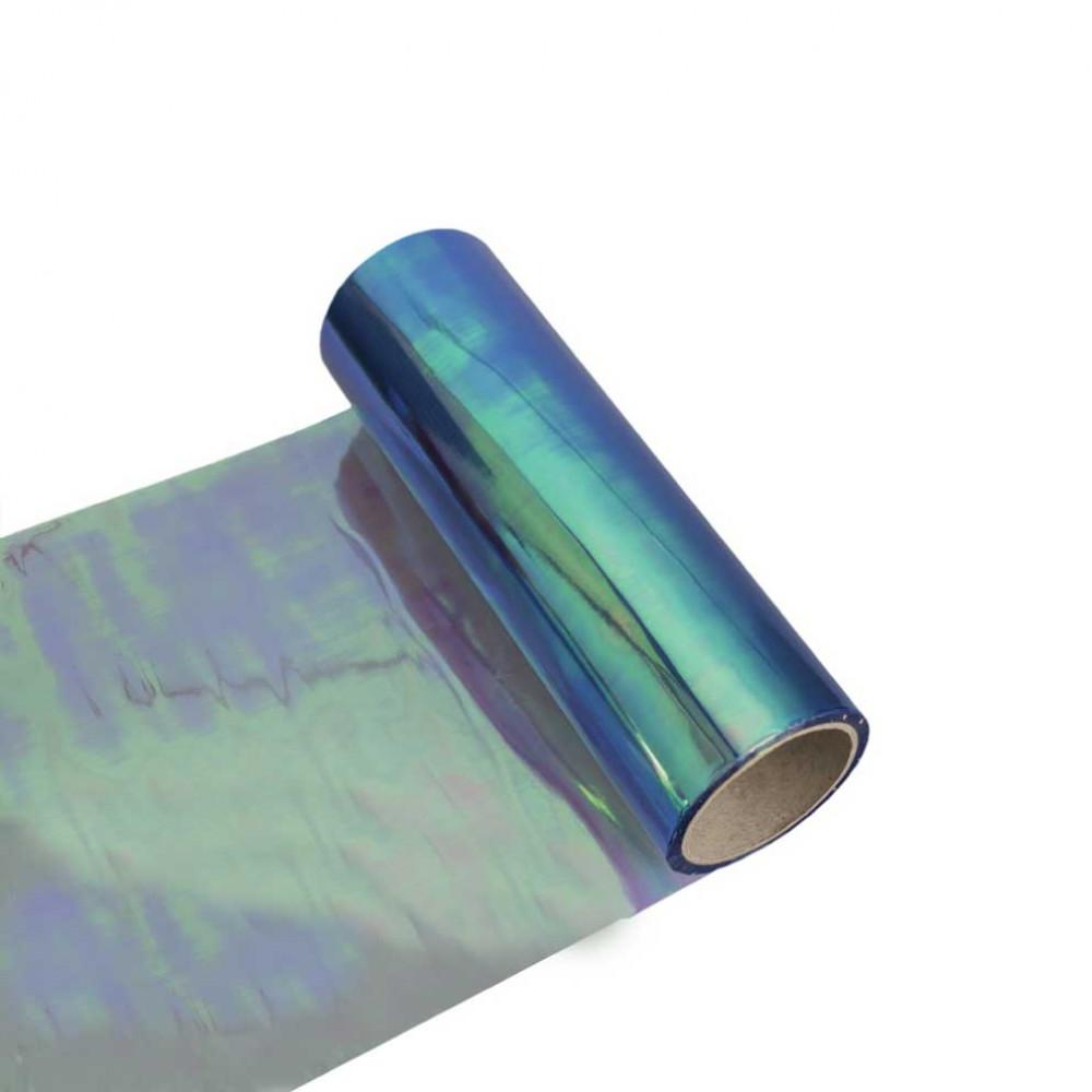 Fólia na svetlá - chameleon modrá 30cm