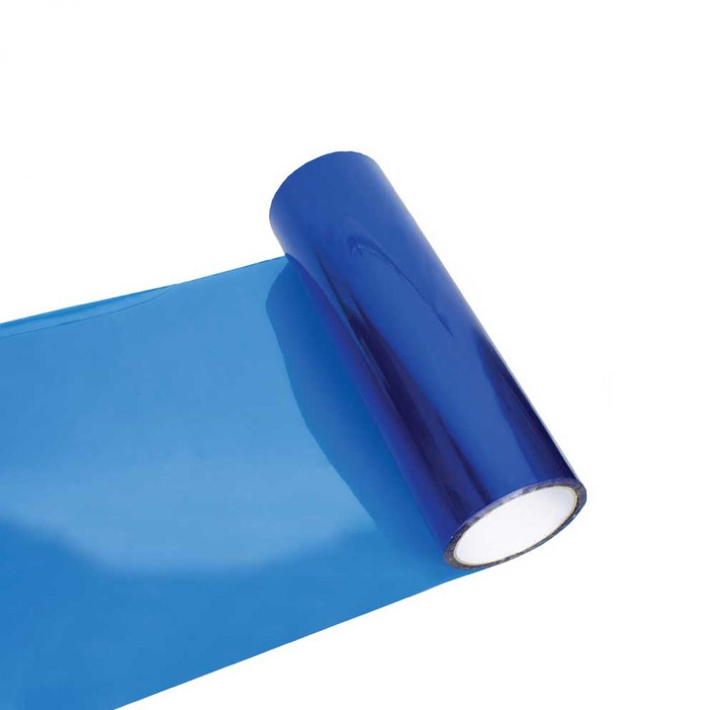 Fólia na svetlá - svetlo modrá 30cm