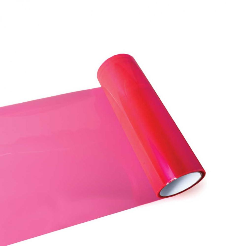 Fólia na svetlá - ružová 30cm