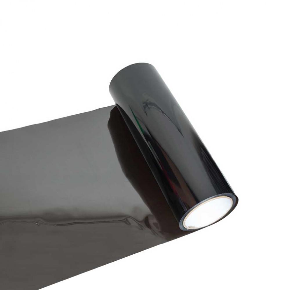 Fólia na svetlá - tmavo čierna 30cm
