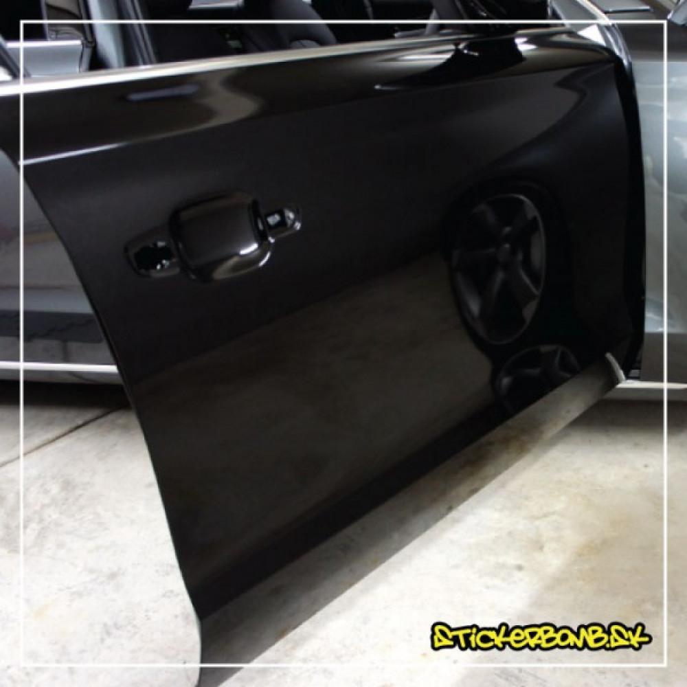 Čierna lesklá fólia - 152cm šírka