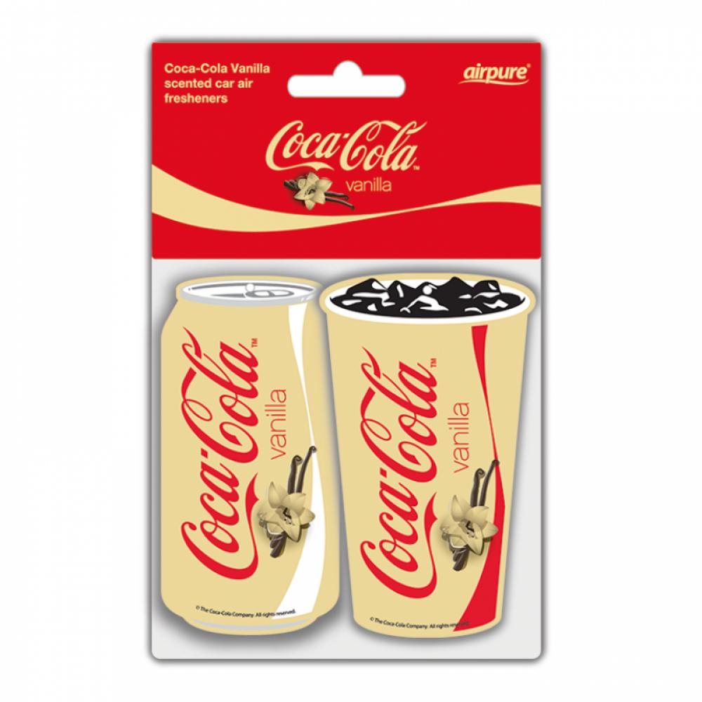 Coca-Cola® Vanilla Twin Pack Paper Air Freshener (2ks v balení)