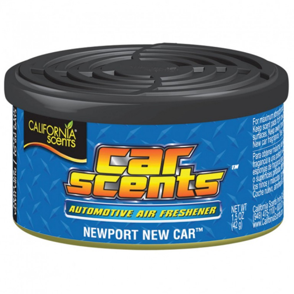 Nové auto - California Scents