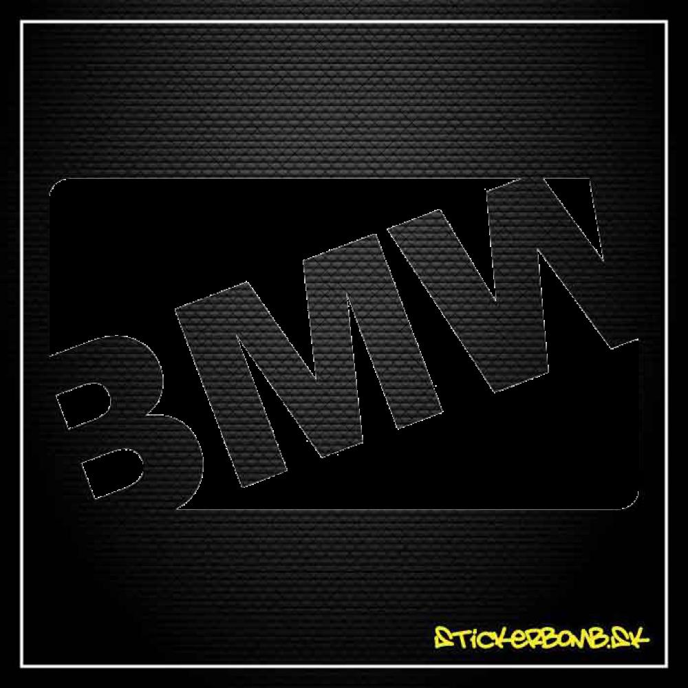 BMW - samolepka