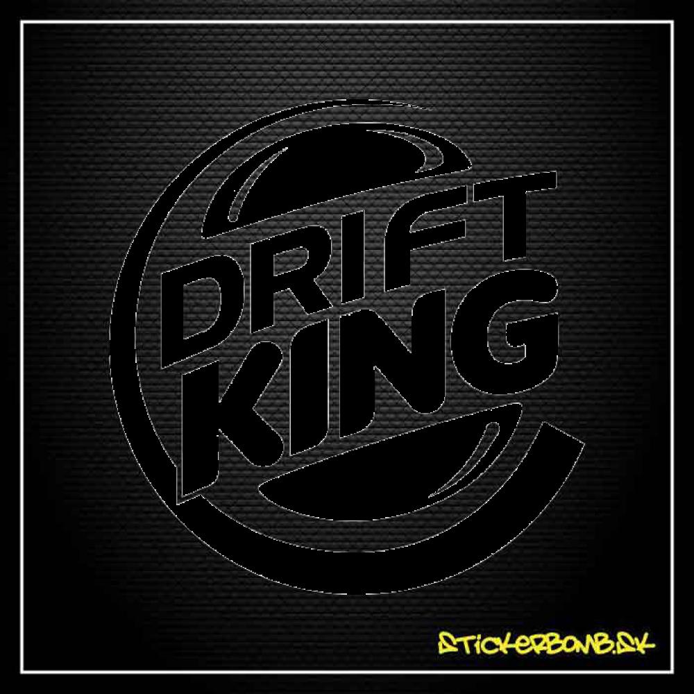 Drift King - samolepka