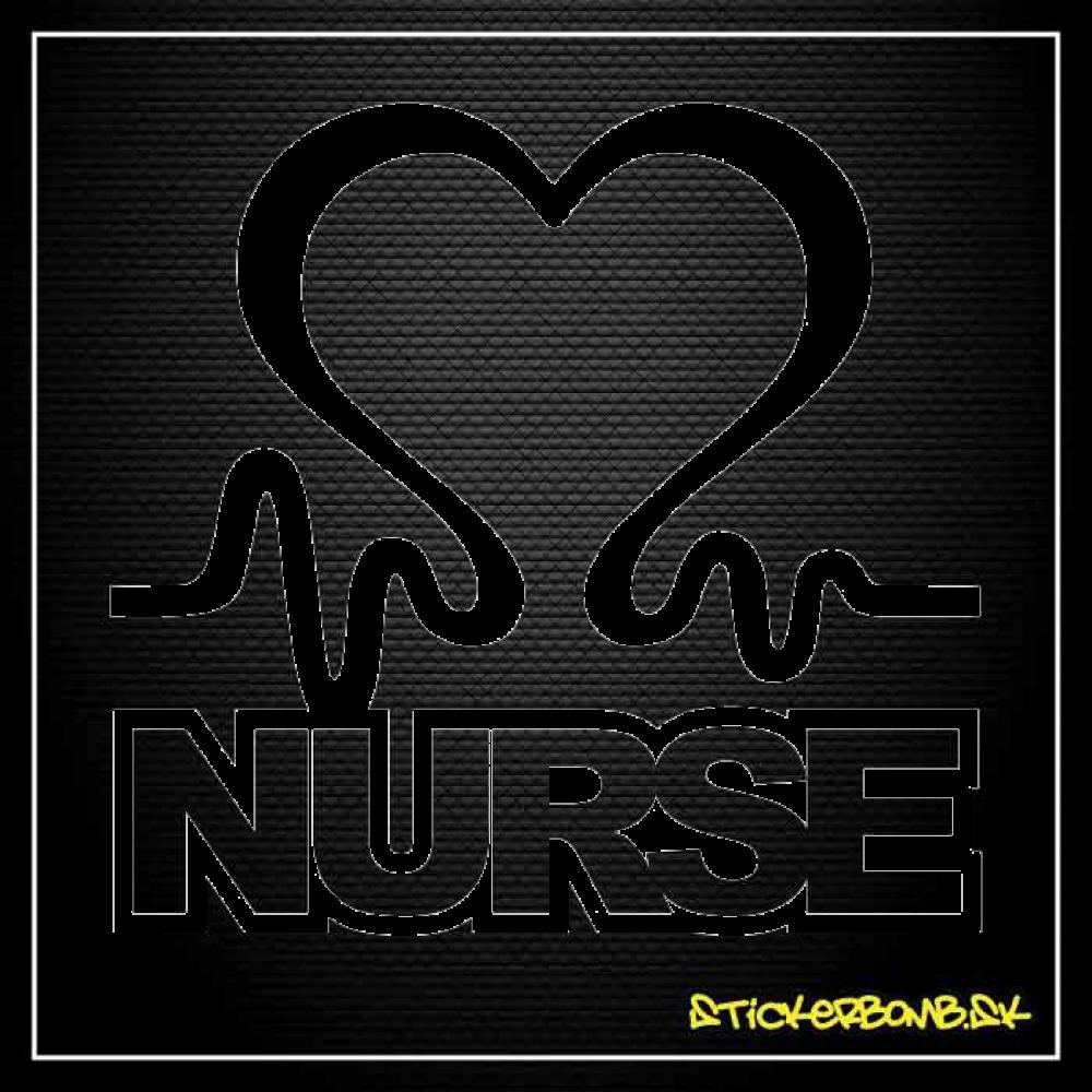 Nurse - samolepka