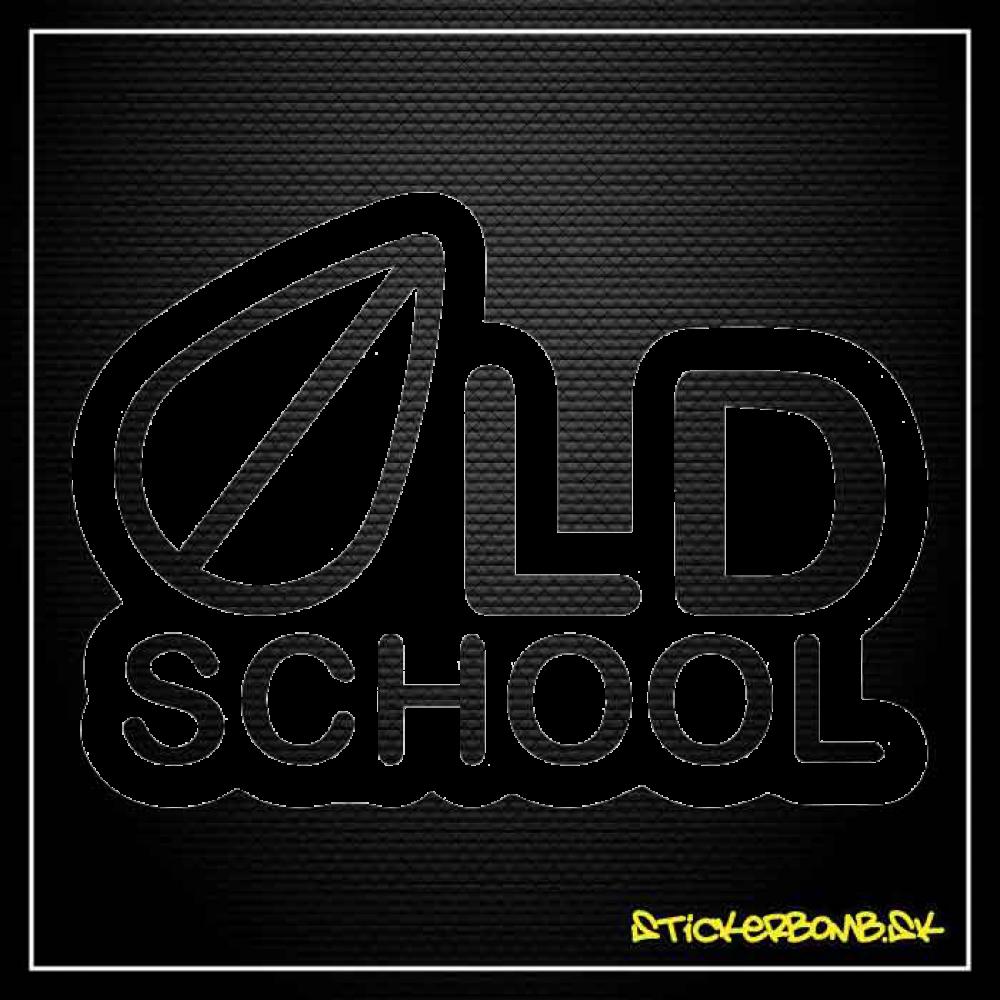 Old School - samolepka