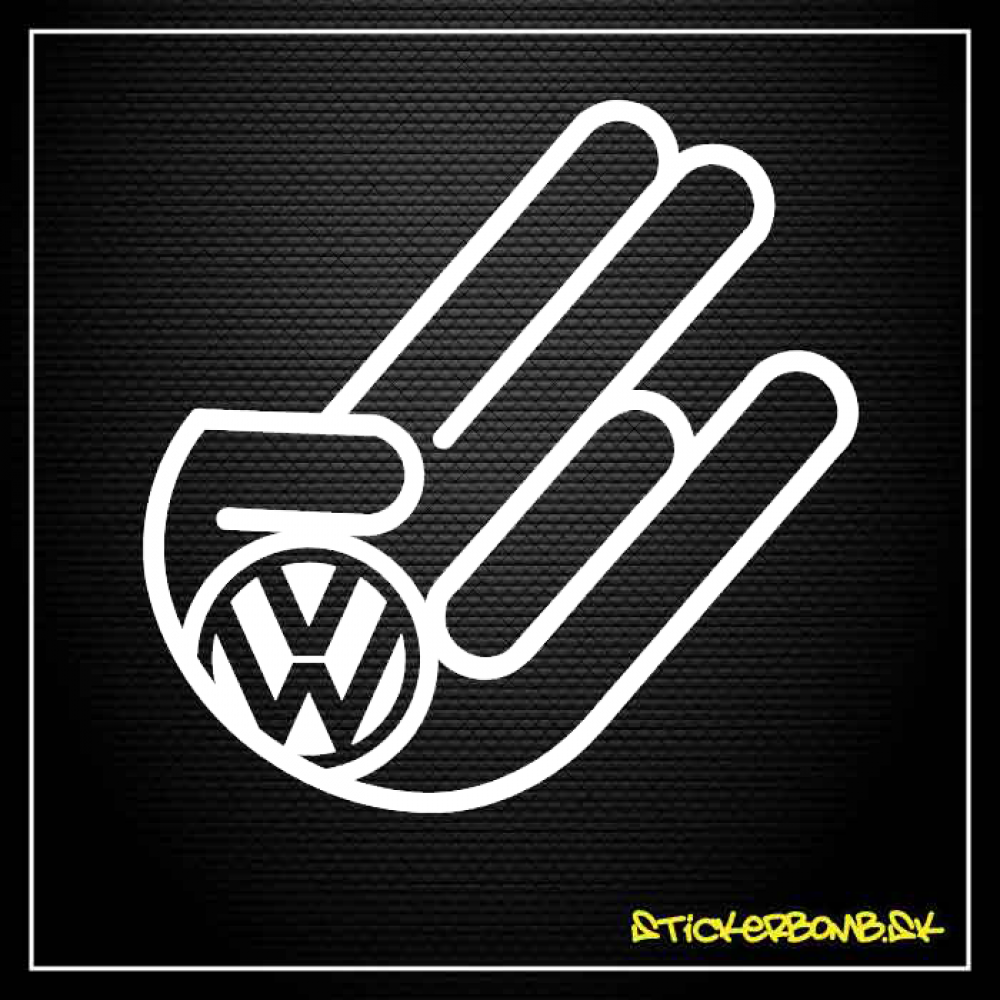 The Shocker VW - samolepka