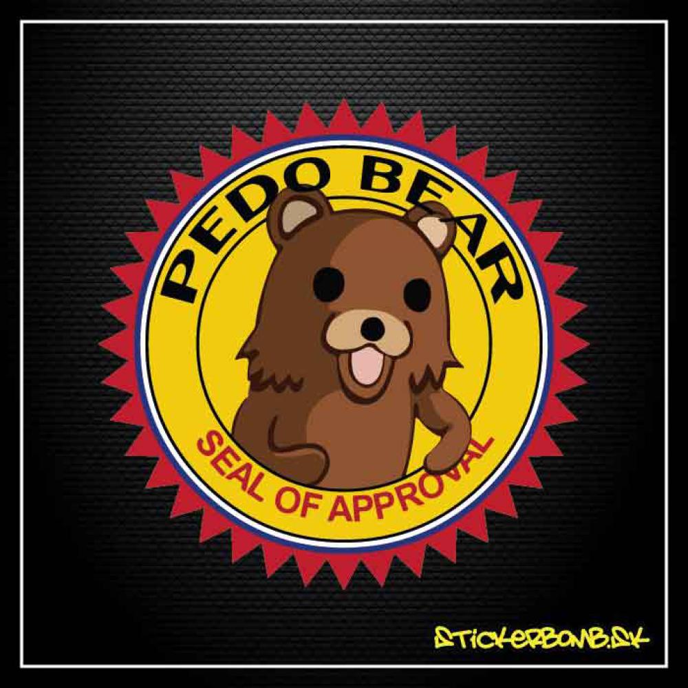 PEDO BEAR - samolepka