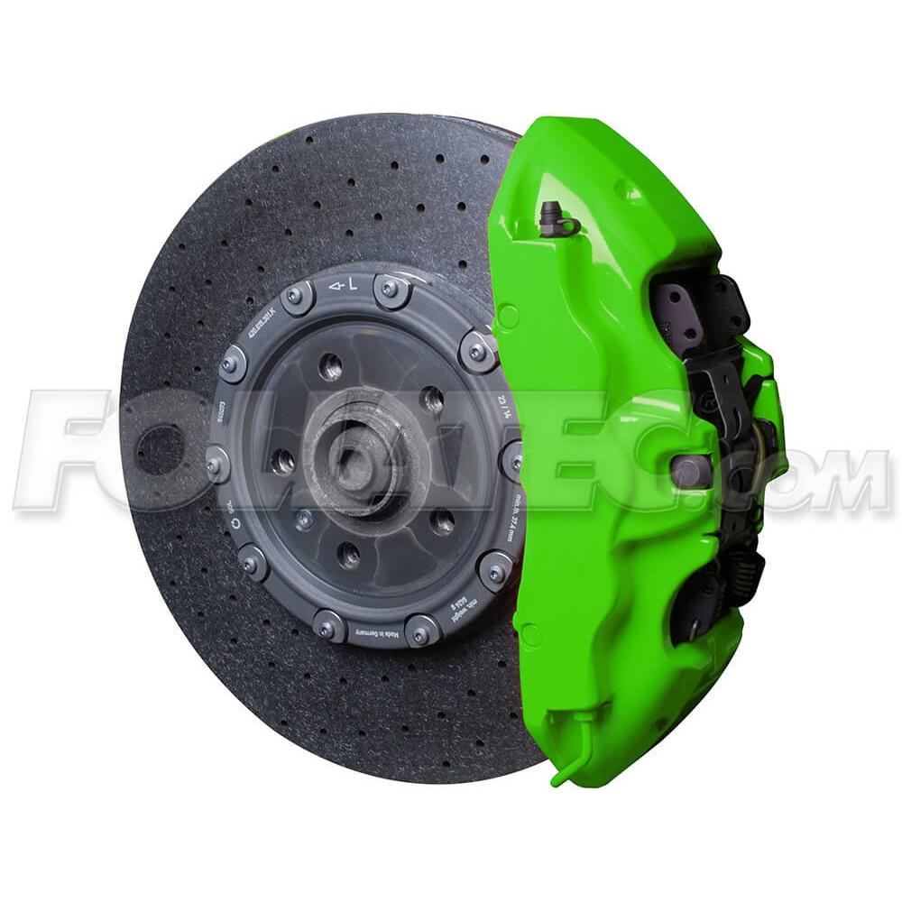 Farba na brzdové strmene - Neonová zelená