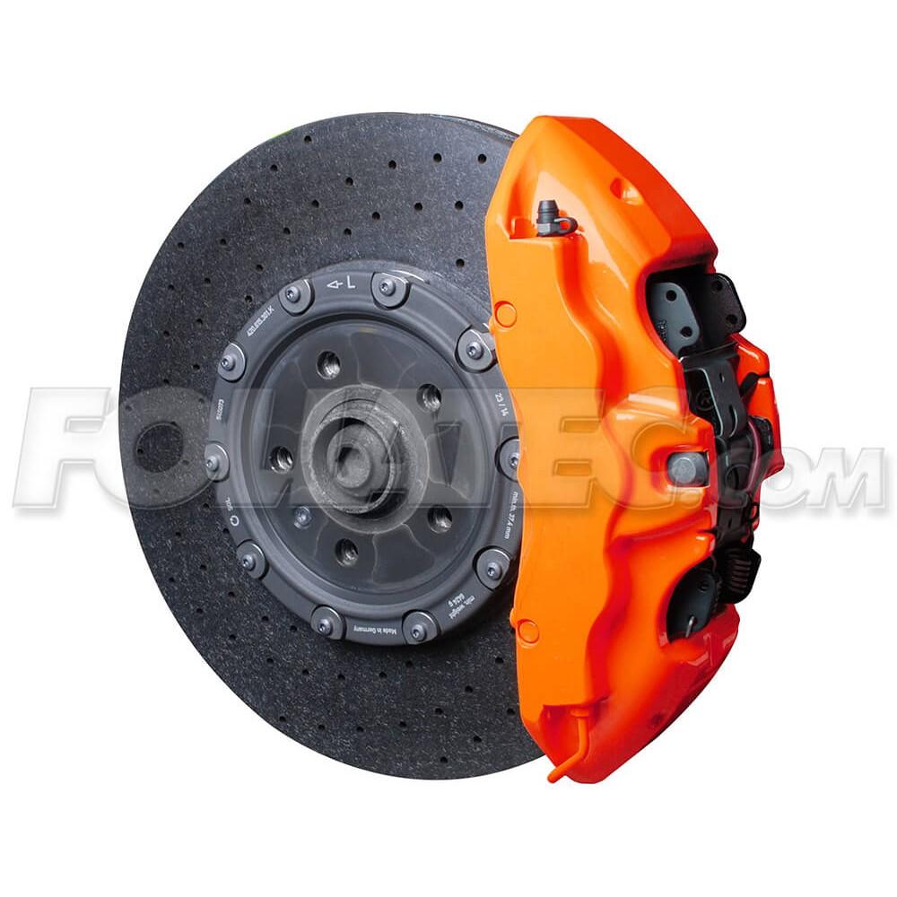 Farba na brzdové strmene - Neonová oranžová