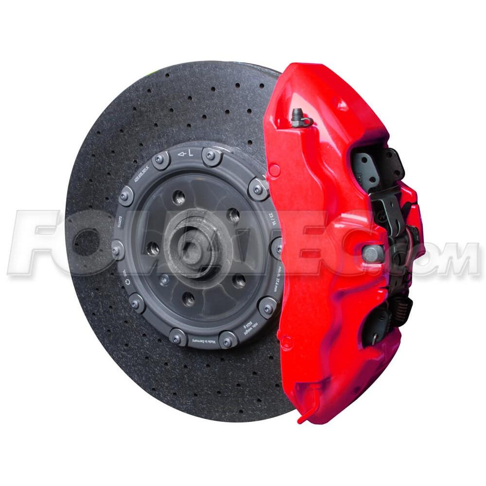 Farba na brzdové strmene - Neonová červená
