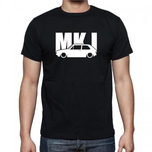296946f8c6f3 Pánske tričko VW GOLF MK 1 - čierne