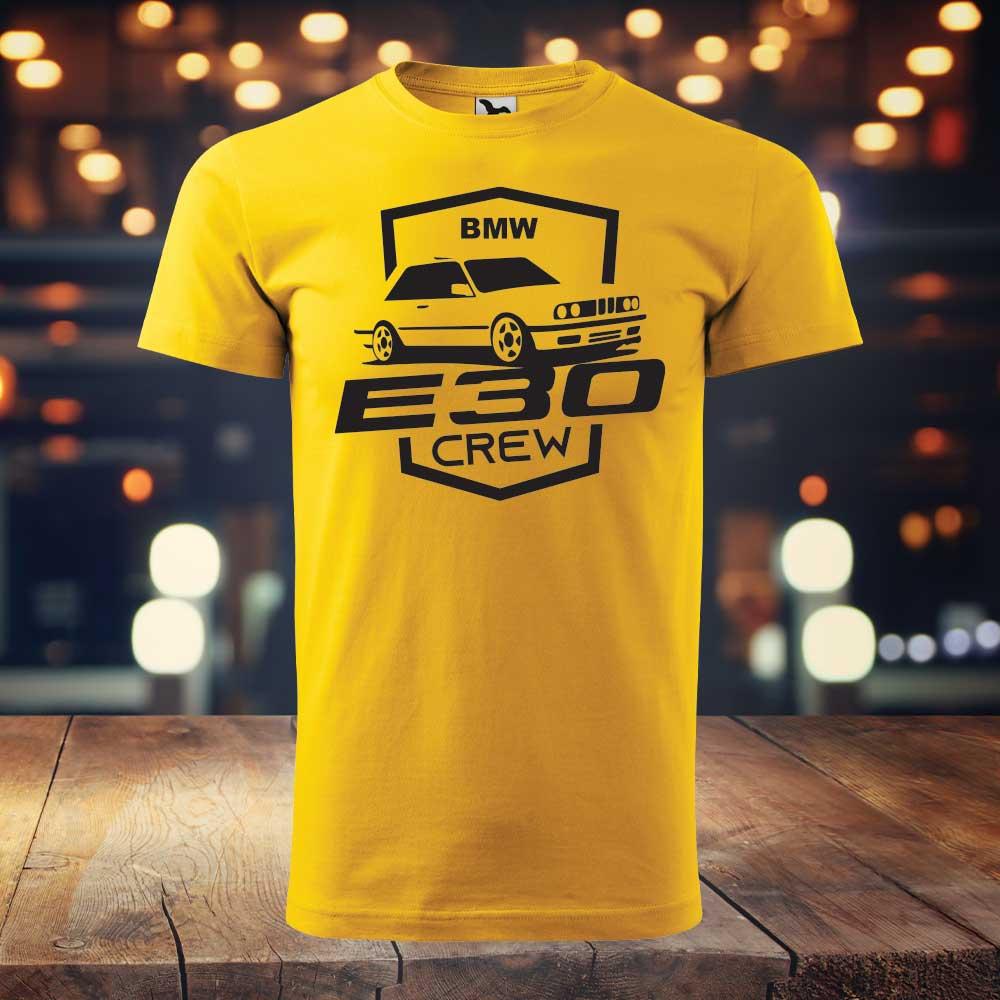BMW E30 CREW | Pánske tričko