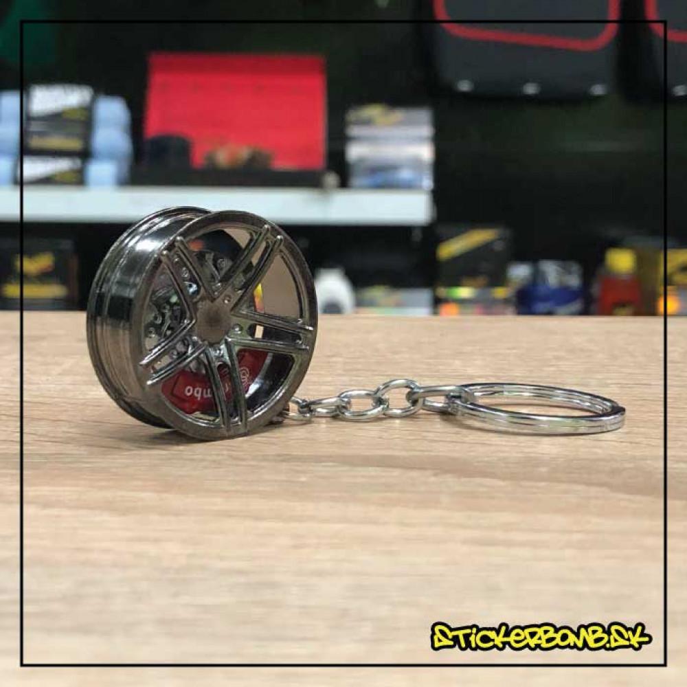 Prívesok na kľúče - Wheel Graffit s brzdovým strmeňom