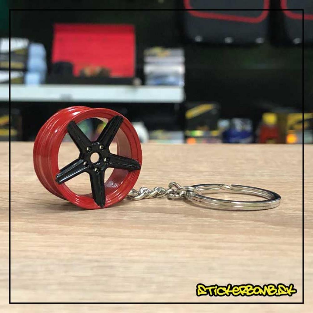 Prívesok na kľúče - Vossen 2 Red Black
