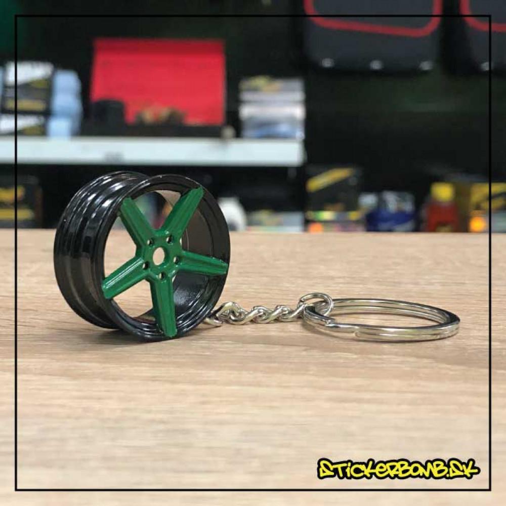 Prívesok na kľúče - Vossen 2 Black Green