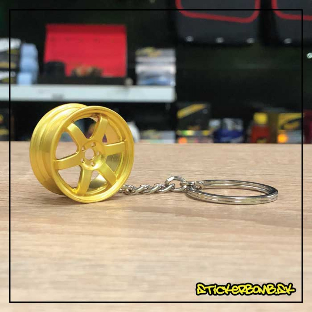 Prívesok na kľúče - Wheel Gold